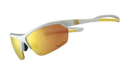 【【蘋果戶外】】720armour B333-4 Mantis 亮澤白 香檳金多層鍍膜 運動太陽眼鏡 防風眼鏡 防爆眼鏡 自行車太陽眼鏡