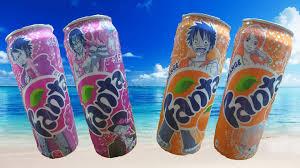有樂町進口食品 日本 限量發售 可口可樂海賊王版 芬達/葡萄汽水 單罐 僅供收藏 勿食 4