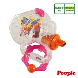 『121婦嬰用品館』People 新口哨笛智育玩具/固齒器/米製玩具 8m+