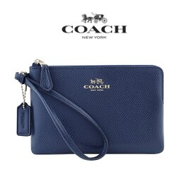 COACH素色手拿包 (6色)