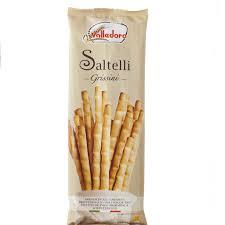 有樂町進口食品 義大利進口 Valledoro 竹節鹽味麵包棒 100g 800928001570