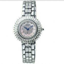 瑞士名錶 愛其華 炫麗山茶花系列珠寶錶-銀/32mm  鑽石女錶 型號305-20DLW