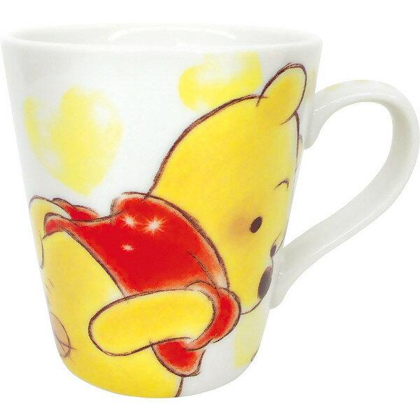 【真愛日本】17110300003愛心握把馬克杯-PH屁屁迪士尼小熊維尼POOH日用品杯子食器瓷製品