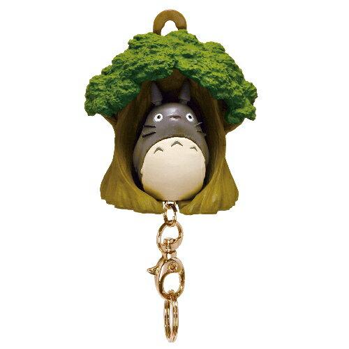 【真愛日本】16051300054 造型鎖圈收納架-龍貓樹屋   龍貓 TOTORO 豆豆龍 鑰匙圈 日本帶回 吊飾
