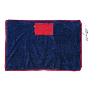 日本 Elaice 絨毛USB發熱毯 - 深藍色