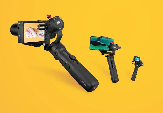 ZHIYUN 智雲 CRANE-M2 相機穩定器 相機 手機 運動攝影機 三用 【3C小籠包】 1