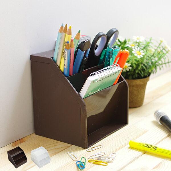 桌上收納盒 日本製文具收納 桌面小物收納 整理盒 置物盒【SV5080】快樂生活網