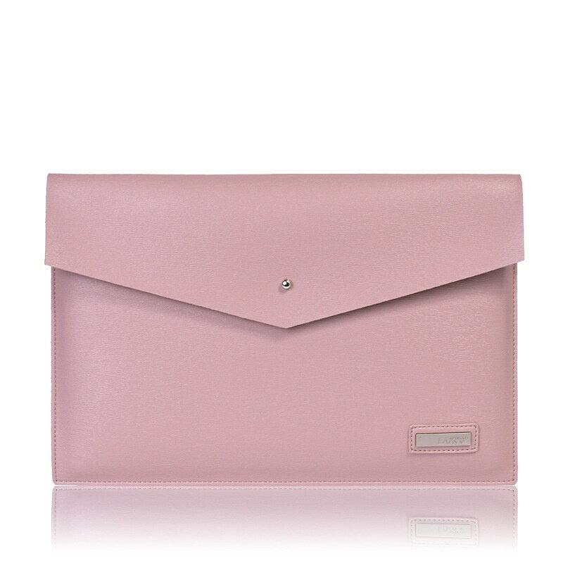 手拿包皮革電腦包-商務純色簡約信封包男女包包3色73vy39【獨家進口】【米蘭精品】 0