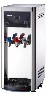 BQ-971桌上型冰溫熱三溫飲水機+前置GT500五道快拆型RO逆滲透 (12期0利率)