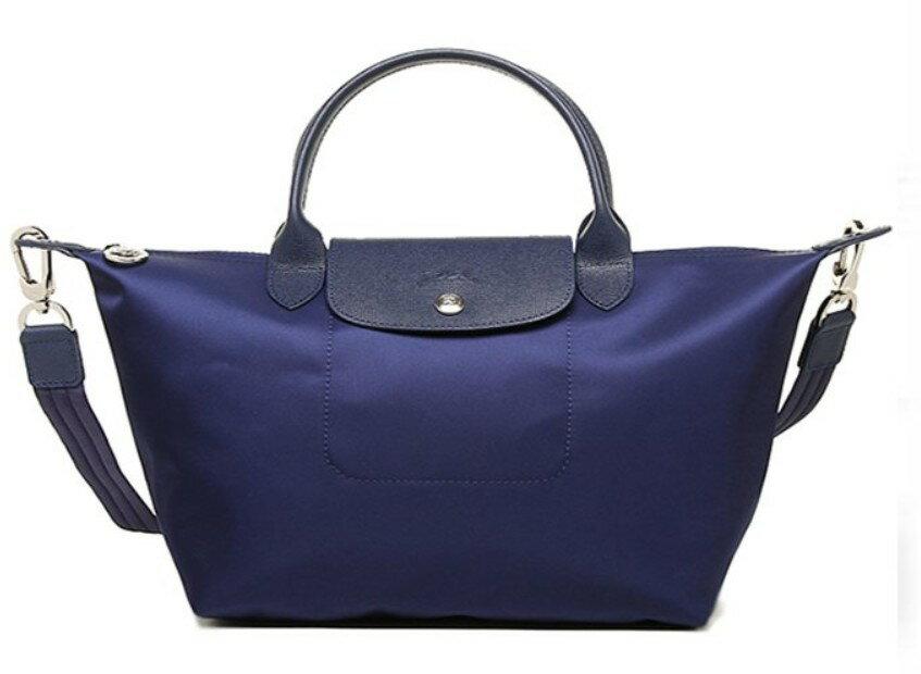 【買一送一】不指定顏色 LONGCHAMP 小號 新款潮流女性斜背包厚尼龍材質手提非摺疊兩用包 (1512 578 )