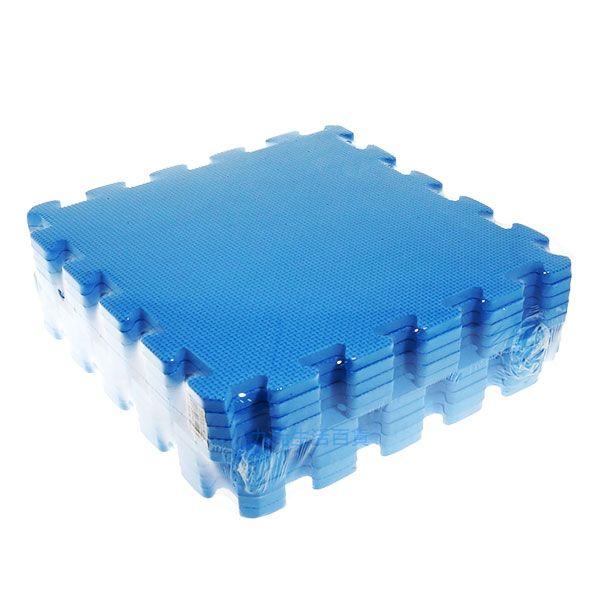 【九元生活百貨】深藍色彩墊/10入 拼裝地墊 EVA 鋪地 拼板 巧拼