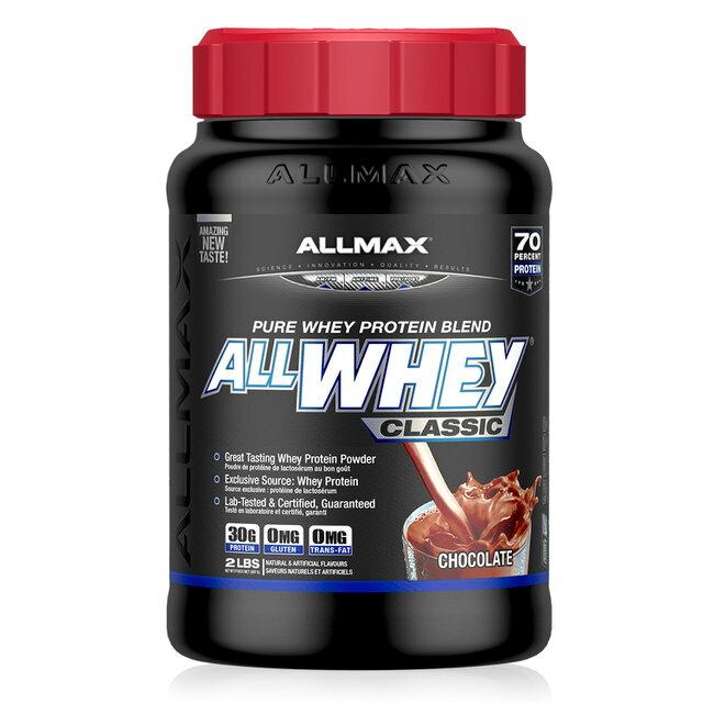【加拿大ALLMAX】奧美仕乳清蛋白飲品巧克力口味(907g)