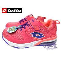女性慢跑鞋到義大利第一品牌-LOTTO 輕巧玩色女童復古氣墊運動慢跑鞋 [5113] 粉【巷子屋】就在巷子屋推薦女性慢跑鞋