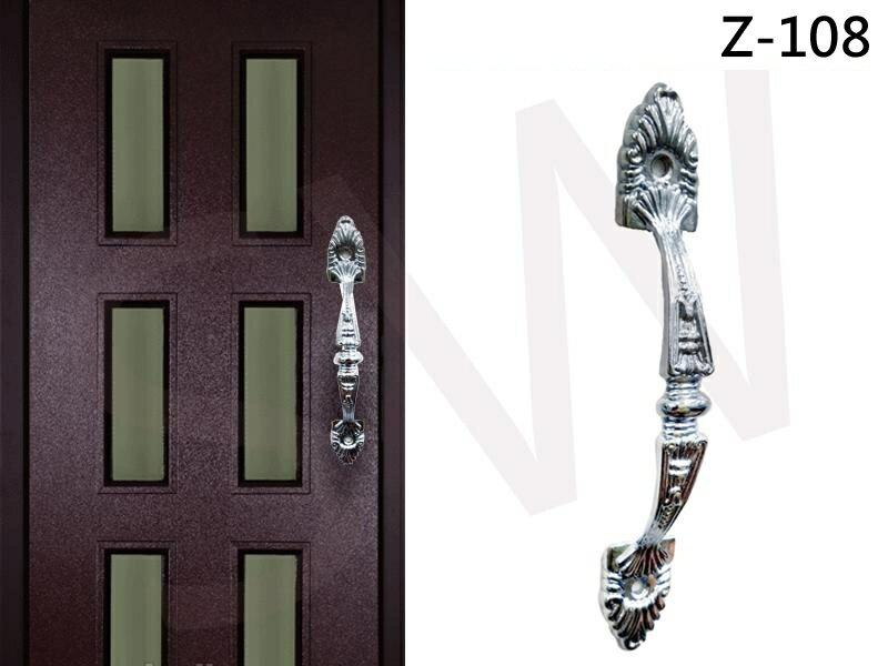 Z-108高雅把手 150mm 雕花 門把 手把 把手 取手 握把 拉手 引手 抽屜把手 大門 鋁門 鋁門窗