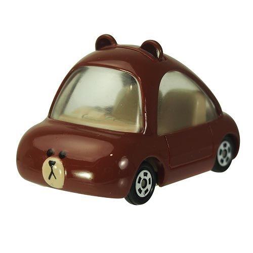 【真愛日本】15080100002TOMY車-熊大  LINE公仔 饅頭人兔子熊大  收藏  擺飾