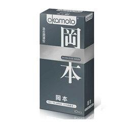 【Okamoto岡本OK】SK混合潤薄型保險套10片裝
