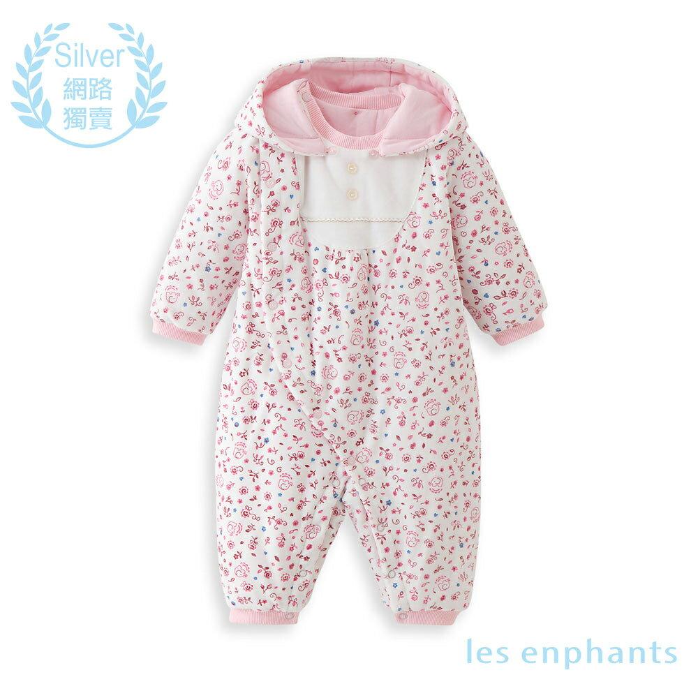 les enphants 嬰幼兒針織連衣褲-淺粉 - 限時優惠好康折扣