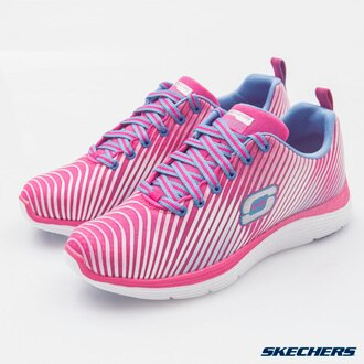 [陽光樂活] SKECHERS 女 運動系列 VALERIS - 12138PKPR 記憶泡棉鞋墊