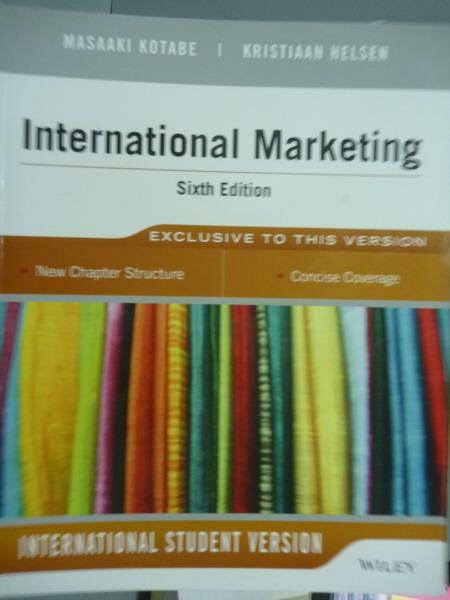 ~書寶 書T9/大學商學_PFF~International Marketing_Kota