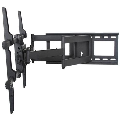 """VideoSecu Articulating Tilt Swivel Rotate Full Motion TV Wall Mount for most 40-70"""" LCD LED Plasma Flat Panel Screen with Loading up to 165lbs - Max VESA 684x400/ 600x400/ 400x400, Dual Arm Pull Out up to 25""""/ Free 10ft HDMI Cable A37 3"""