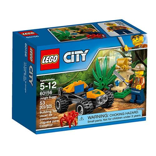 樂高積木 LEGO《 LT60156 》2017年CITY 城市系列 - 叢林越野車