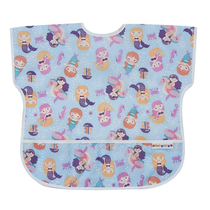 【任二入95折】Baby City娃娃城 - 防水短袖圍兜 (1-3歲) 4