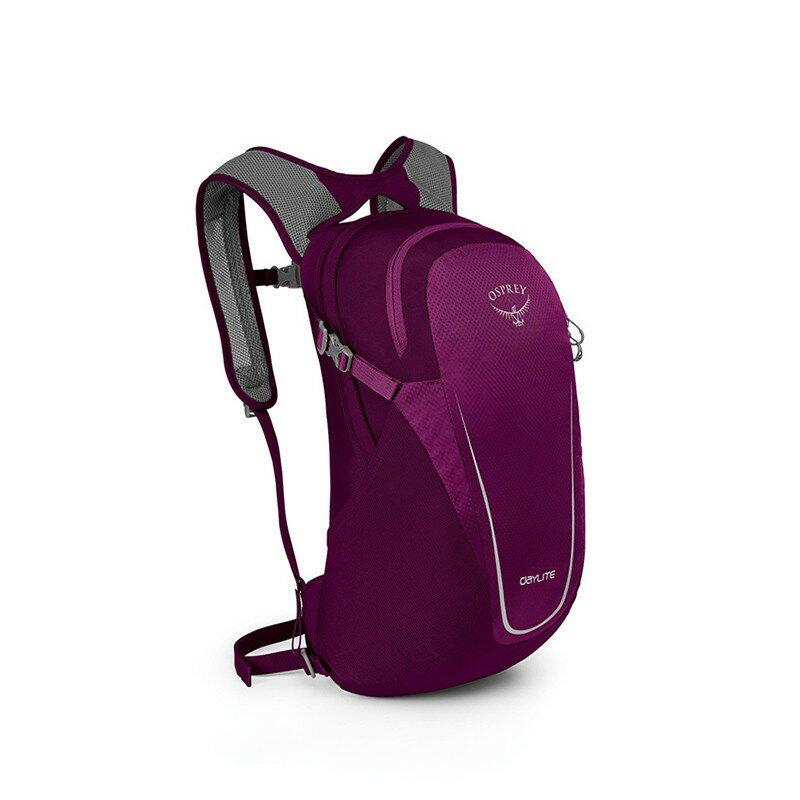 【OSPREY|美國】Daylite 13L 超輕量攻頂包/自行車背包-紫 10000415