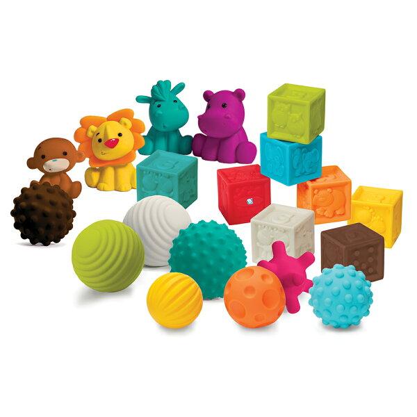 美國Infantino寶貝益智軟質玩具組