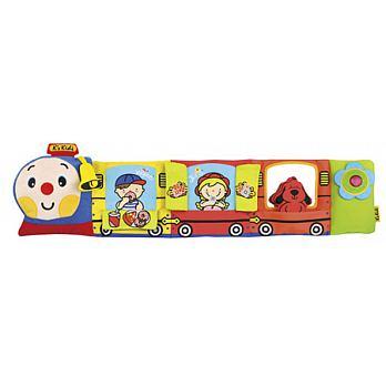【安琪兒】【K's Kids】Choo Choo Train Activity Bumper 火車造型床圍彩色 - 限時優惠好康折扣