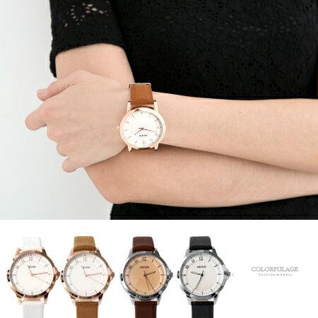 女孩必搭玫瑰金韓系手錶 春夏新品馬卡龍配色  柒彩年代【NE1840】單支 0