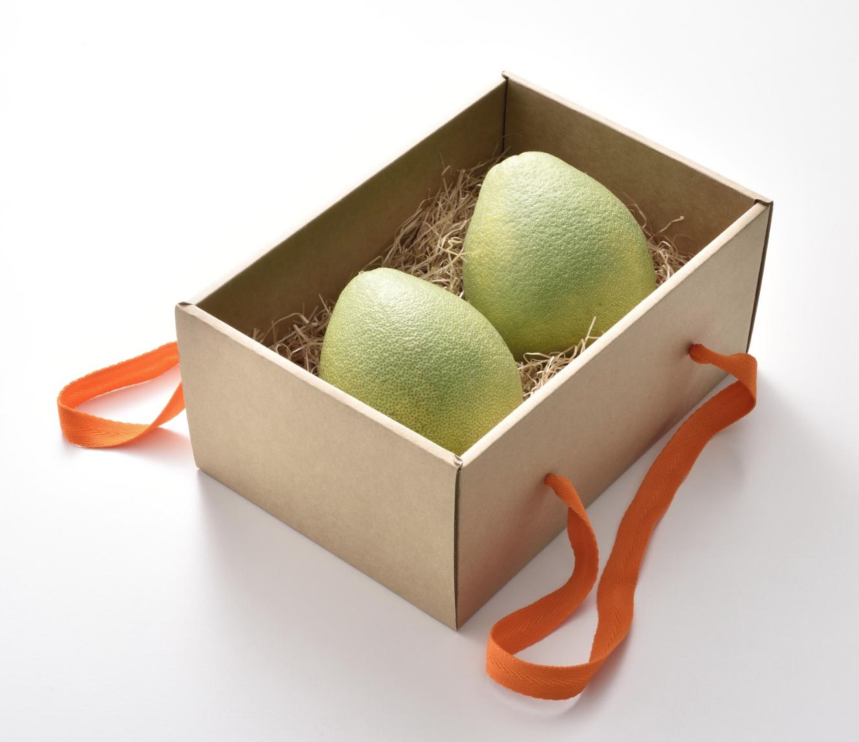 《沐果樂元》斗六御品文旦水果禮盒(企業小資送禮,每盒2粒裝)