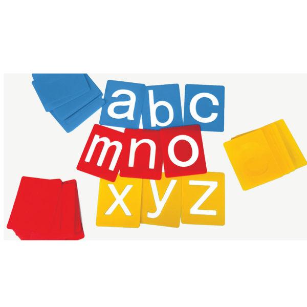 【華森葳兒童教玩具】美育教具系列-小型字母模板-小寫英文字母 L1-AP/2166/ASL