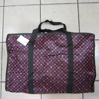 ~雪黛屋~Better 旅行袋簡易型旅行袋防水尼龍布材質可壓扁收納不占空間可手提可肩背 #001 C桃紅