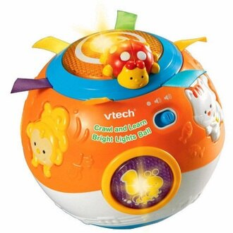 【折後$599➤04SS100】Vtech - 炫彩聲光滾滾球【寶貝樂園】