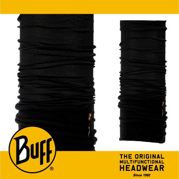 BUFF 西班牙魔術頭巾 POLAR保暖系列 [就是黑] BF100471