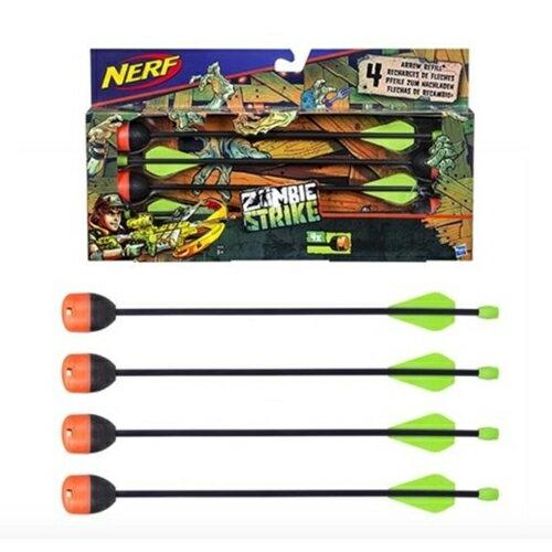 《NERF 樂活打擊》打擊者系列 - 弓箭鏢 4 入配件組