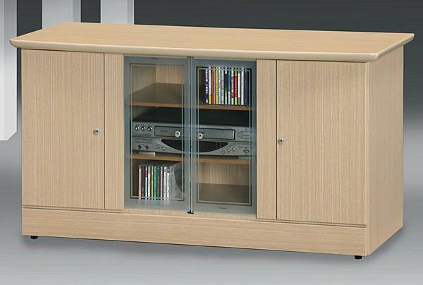 【尚品家具】 628-01白橡4尺電視櫃矮櫃~另有胡桃柚木山毛色、2尺、3尺~