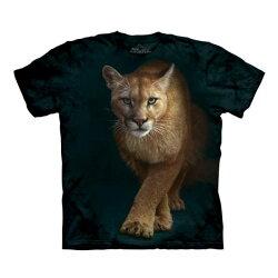 【摩達客】美國進口The Mountain狩獵獅(預購) 純棉環保短袖T恤