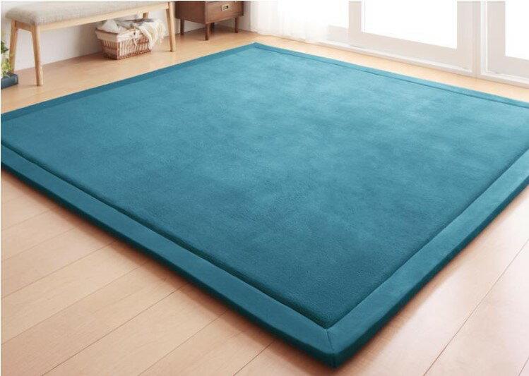 出口日本等級 日本原單 130*190CM 高級纖細珊瑚絨地毯 /  爬行墊 /  遊戲墊 /  榻榻米墊 /  運動墊 /  瑜珈墊 /  地墊 (如需其他尺寸也能訂做) 9
