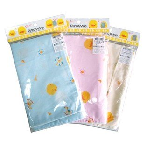 【奇買親子購物網】黃色小鴨PiYOPiYO抗菌木馬枕套(※不含枕心)(藍粉黃)