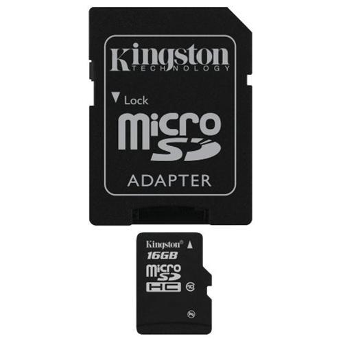 Kingston 16GB microSDHC 45MB/s UHS-I U1 Class 10 16G microSD micro SD SDHC C10 Flash Memory Card SDC10G2/16GB