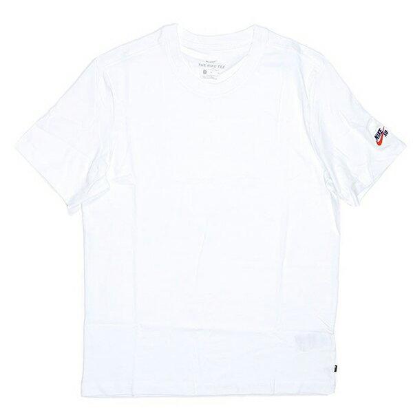 Shoestw【AR4024-100】NIKE SB 短袖 T恤 短袖上衣 棉質 素T 左袖口LOGO刺繡 STANDARD FIT 白色