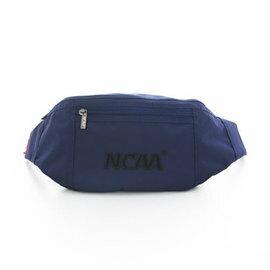 【002083-02】NCAA 宅生運動小腰包 絨毛LOGO 隨身萬用小腰包 - 絨字深藍
