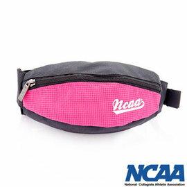 【002084-01】NCAA 馬卡龍隨身小腰包 運動格紋小腰包_粉紅色