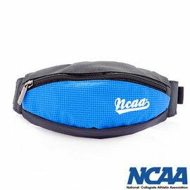 【002084-03】NCAA 馬卡龍隨身小腰包 運動格紋小腰包_藍色