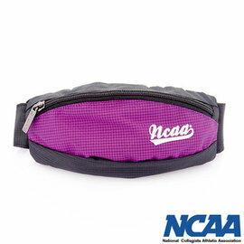 【002084-04】NCAA 馬卡龍隨身小腰包 運動格紋小腰包_紫色