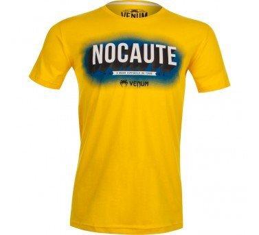 VENUM擊倒紀念 T恤~健身房T-shirt UFC The Venum Nocaute -限量黃376