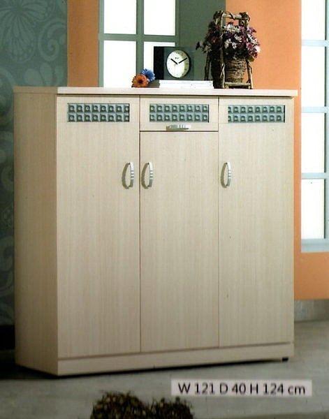 【尚品傢俱】405-08 尼曼白橡/胡桃4尺鞋櫃~另有其他尺寸~