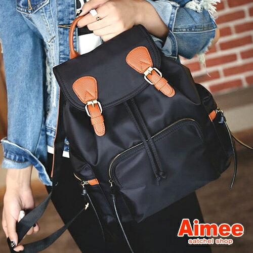 【Aimee包包屋】媽媽旅行尼龍後背包
