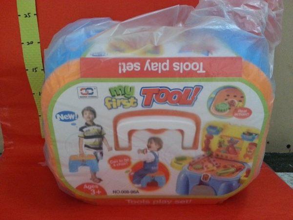 兒童多功能遊戲椅 工具組#家家酒玩具